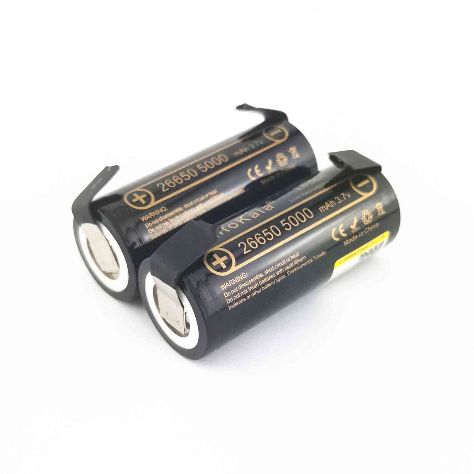 Li-ion  Rechargeable Battery For Flashlight