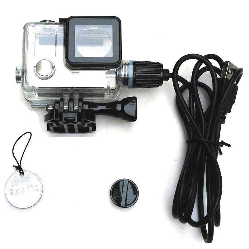 Suptig Camera Accessories Motocycle Chargering Waterproof Case