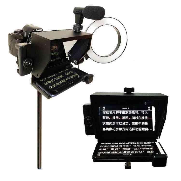 Portable Mini Teleprompter Mobile For Smartphone