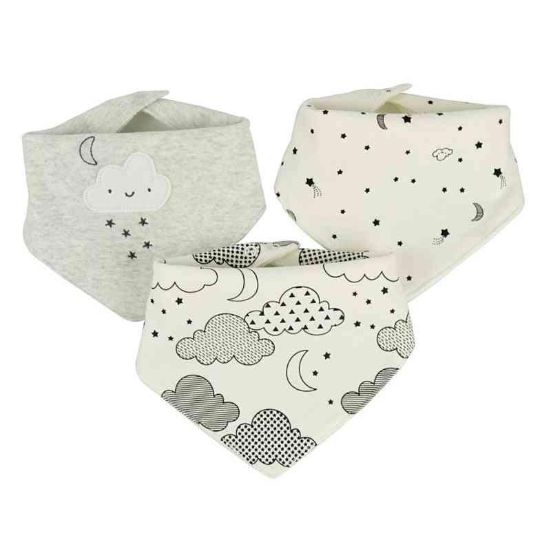 Baby Bibs Waterproof For Pieces Cotton Bandana Accessories