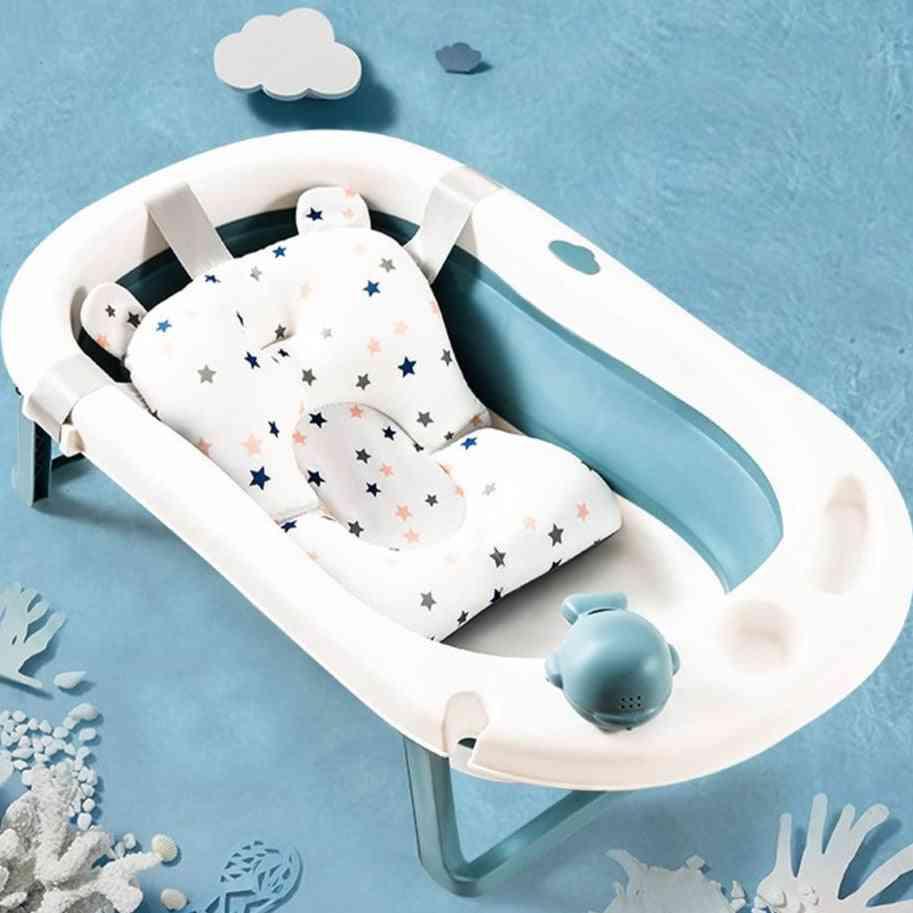 Baby Shower Bath Tub Pad, Non-slip Bathtub Seat Support Mat