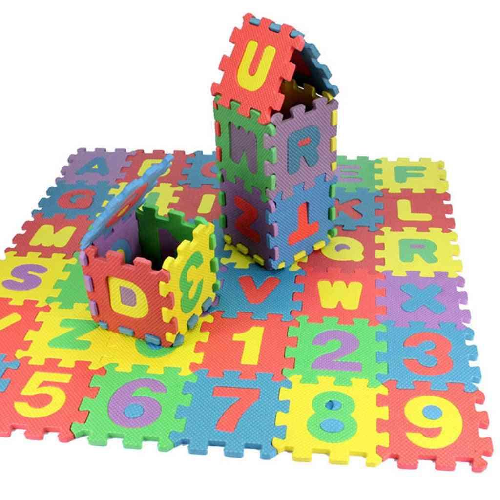 Baby Child Number Alphabet Puzzle