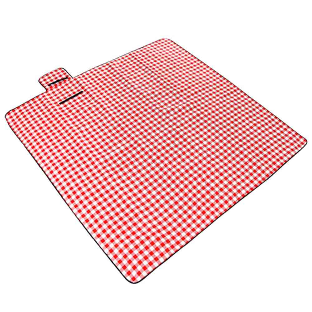 Folding Oxford Cloth Picnic Blanket Mat Waterproof Extra Large Handy Mat Outdoor Thick Sandproof Blanket For Family Friend Kids