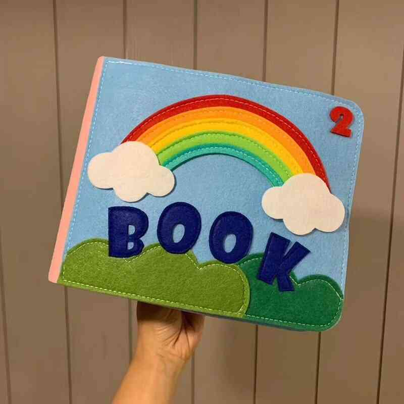Early Learning Education Quiet Book