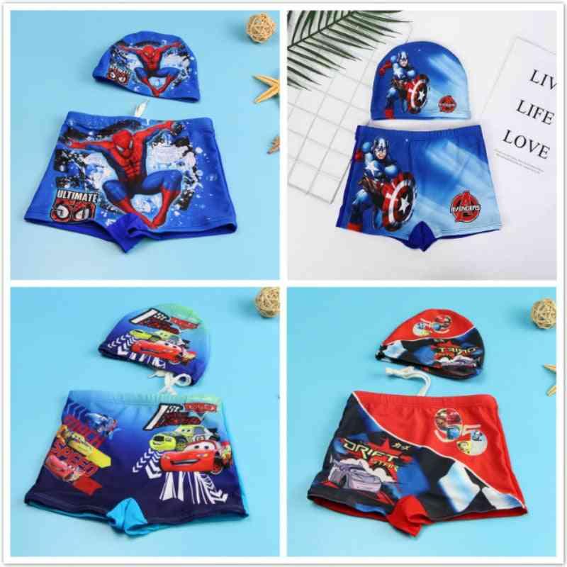 Baby Boy Swimwear Pants Cap Set