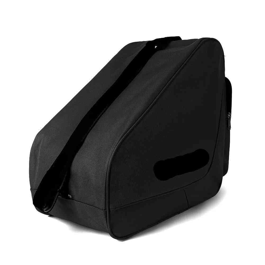Heavy-duty Ice Hockey Skate Carry Bag, Adjustable Shoulder Strap.