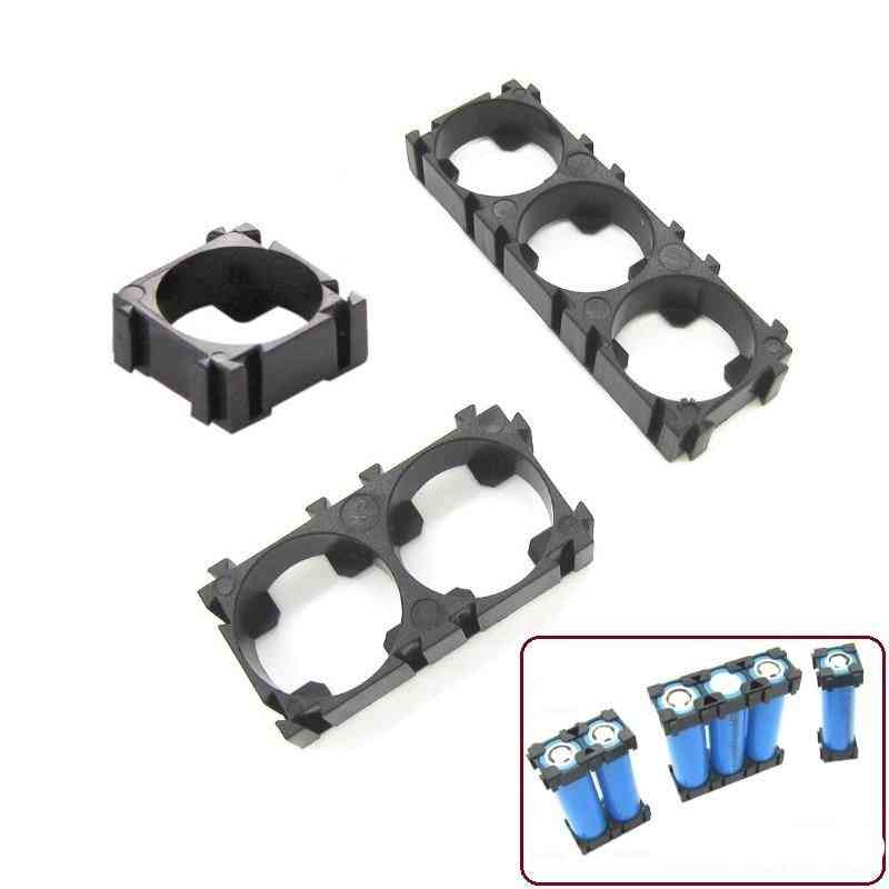 Battery Holder Bracket Diy Cylindrical Batteries Pack/ Case Storage Box Container