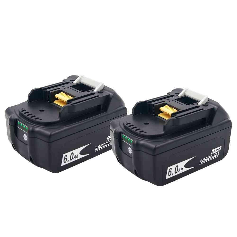 Version Bl1860 18v 6000mah Li Ion Rechargeable Battery For Makita Battery