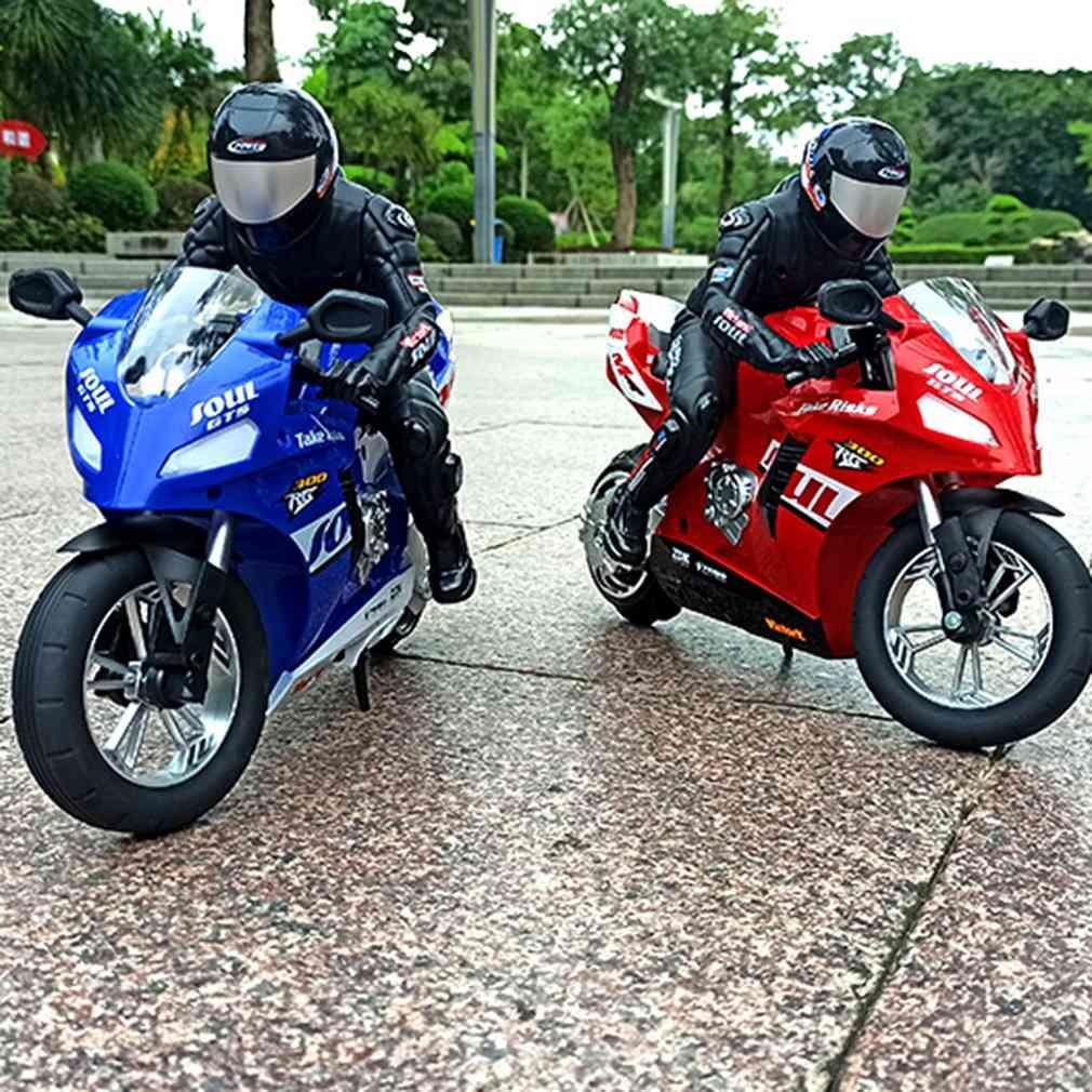 Self-balancing 6 Axis Stunt Racing Motorcycle Plastic