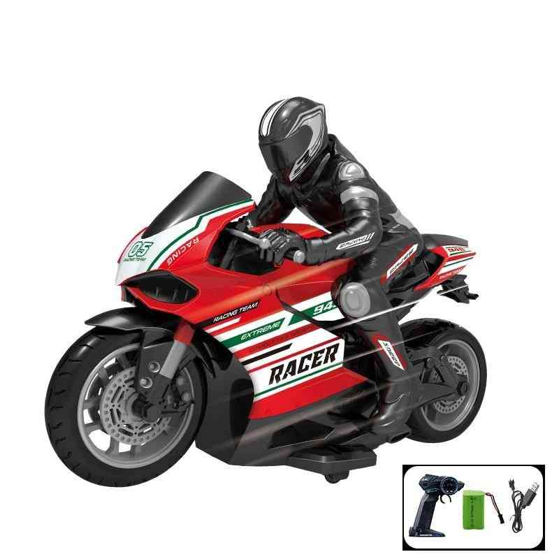 1:10 Scale Ducati Remote Control Motorcycle 25km/h 4 Channels High Speed Racing Motorcycle Electric Off-road Vehicle Rc Car