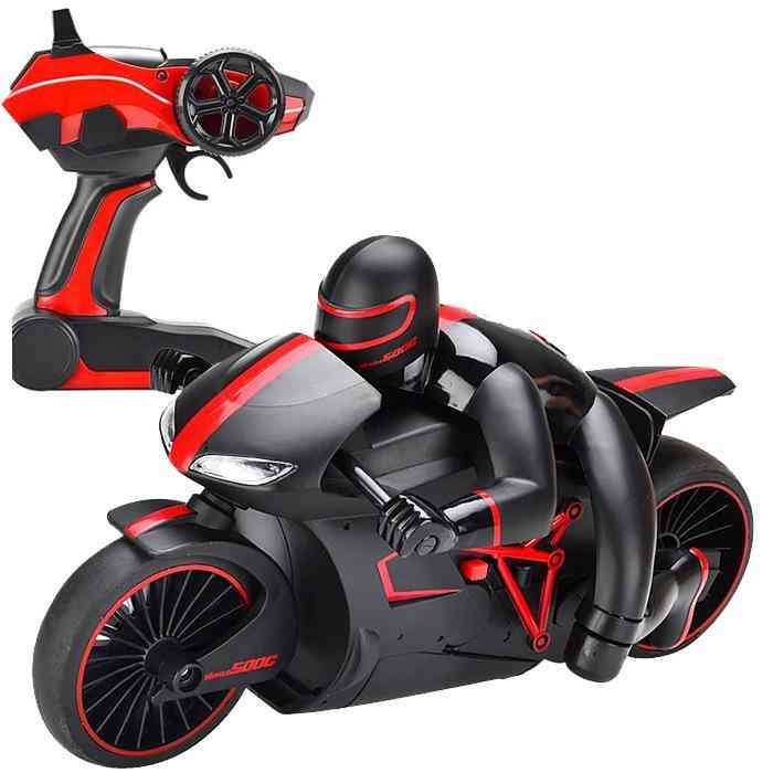 2.4g Remote Control Motorcycle Toy Spinning Drift Off-road Vehicle Toy