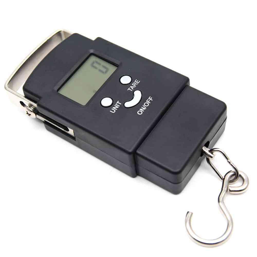 Fishing Weighting Steelyard Portable Electronic Hanging Hook Scale Sp