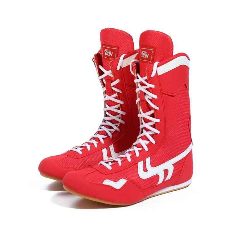 Men Women Boxing Wrestling Shoes Men Training Shoes Muscle Outsole