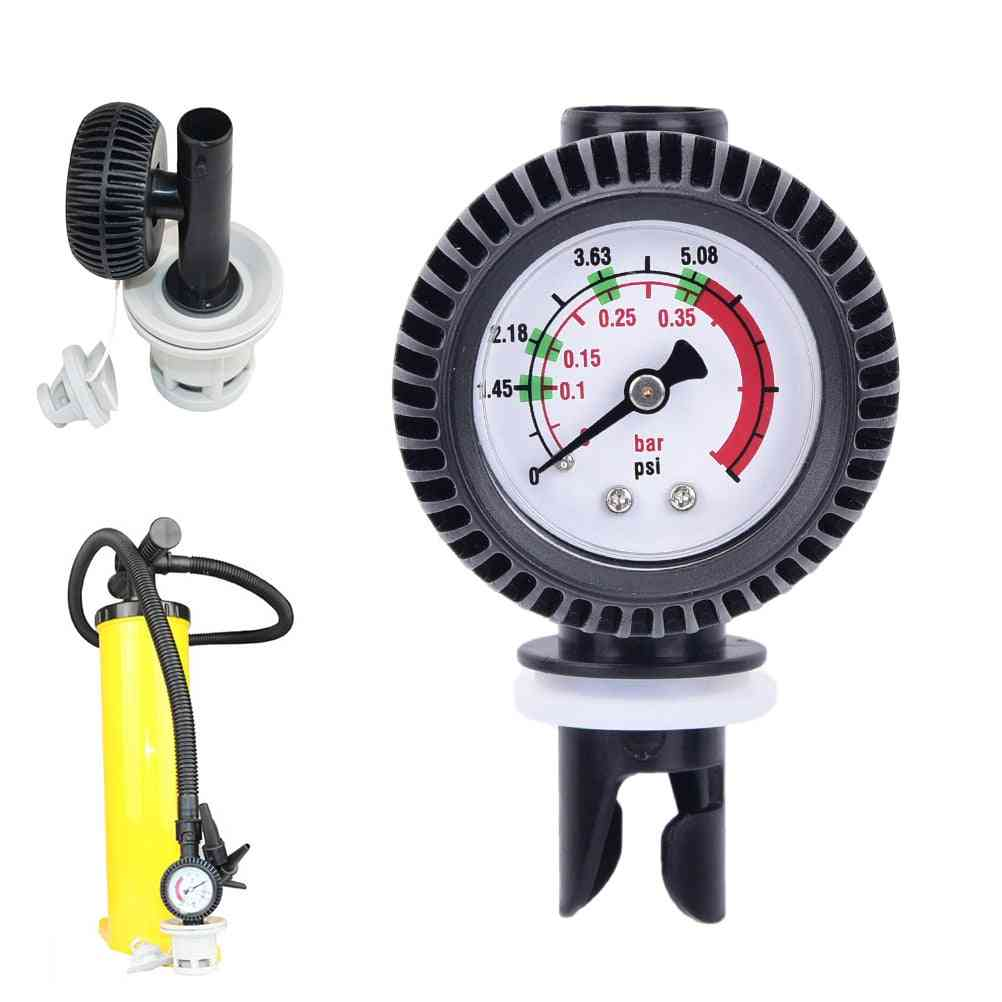 Barometer With Hose Adaptor Connector
