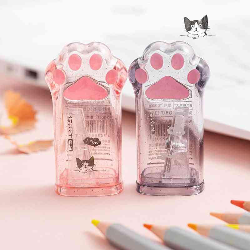Cute Cat Paw Sharpener For Pencil