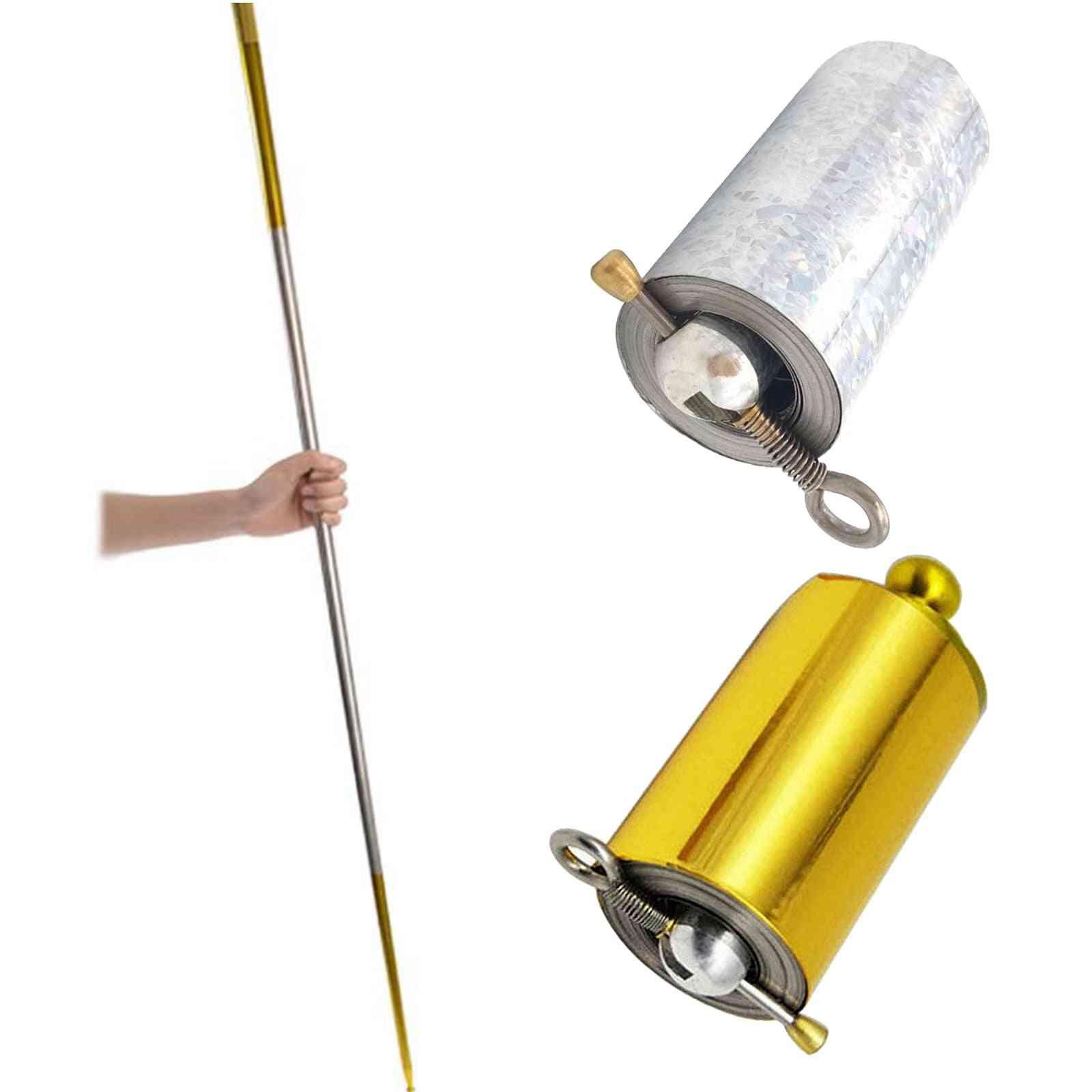 Portable Martial Arts Pocket Tricks Telescopic Rod Staff Stick