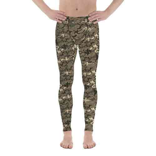 Men's Army Camo Leggings