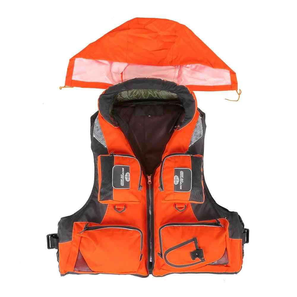 Vest Fishing Vest Water Sport Safety Life Jacket