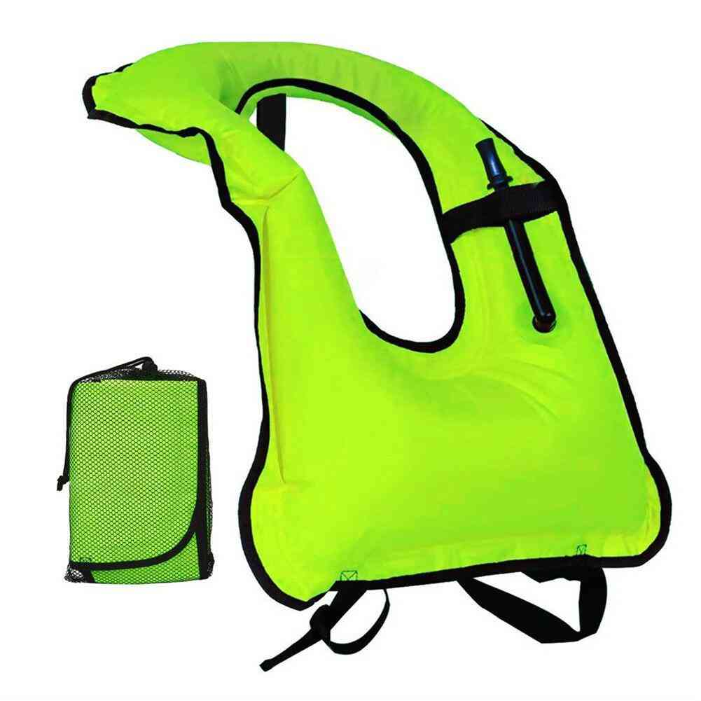 Adult Safety Snorkeling Swimming Life Jacket