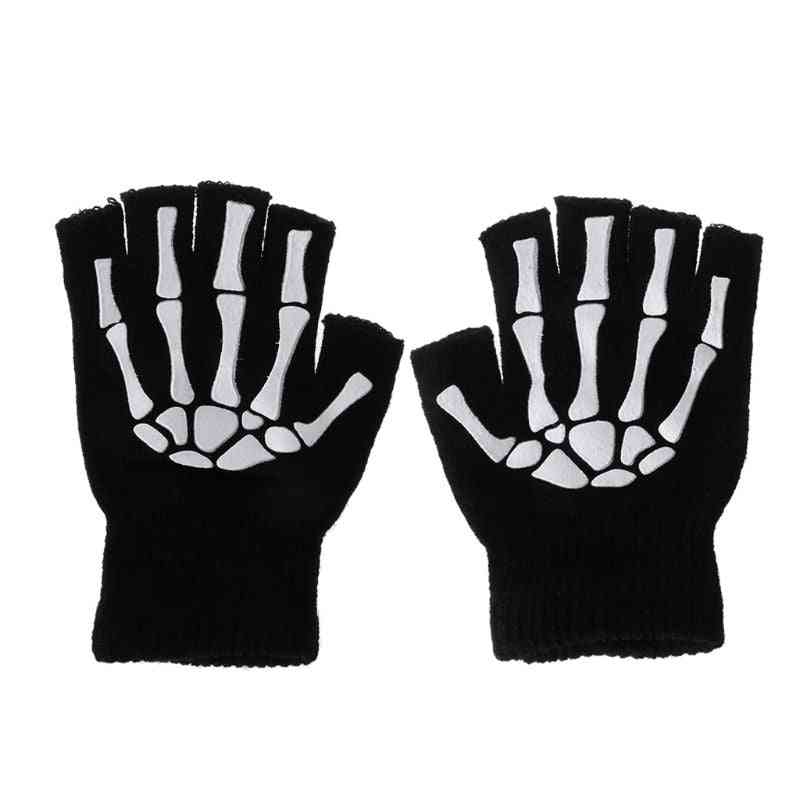 Kids Outdoor Sports Bicycle Half Finger Cycling Gloves