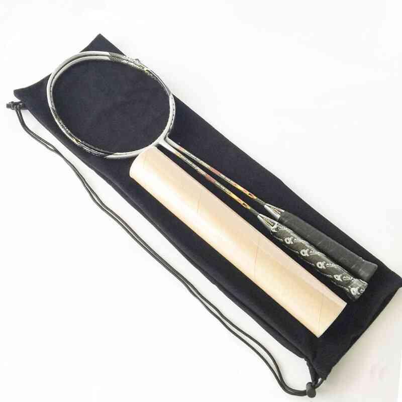 Plush Cloth Badminton Racket Ball Bag