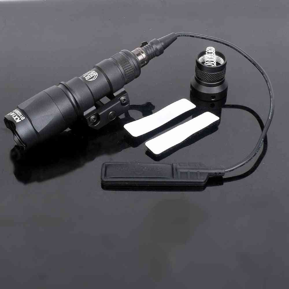 M300c Tactical Weapon Light Constant / Momentary Scout Light Waterproof Rifle Hunting Flashlight Fit 20mm Picatinny Rail