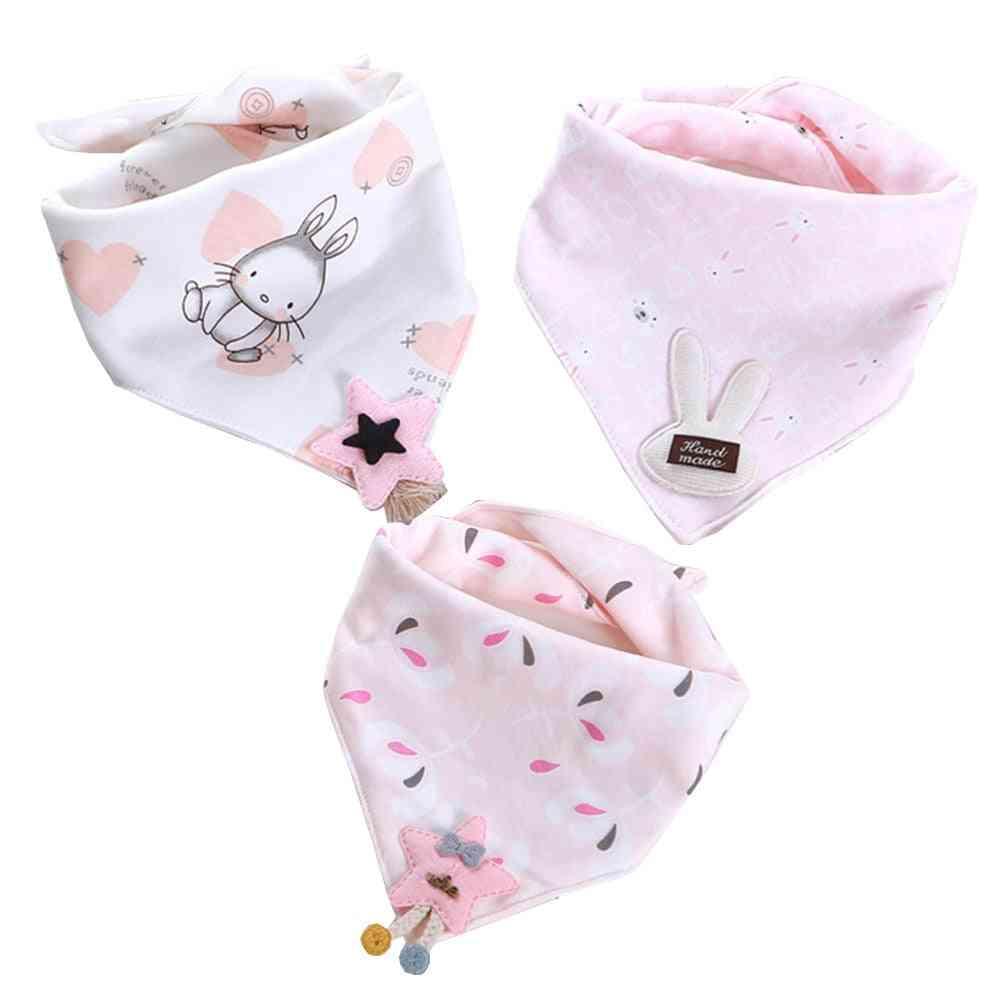 Newborn Baby Cotton Absorb Bibs