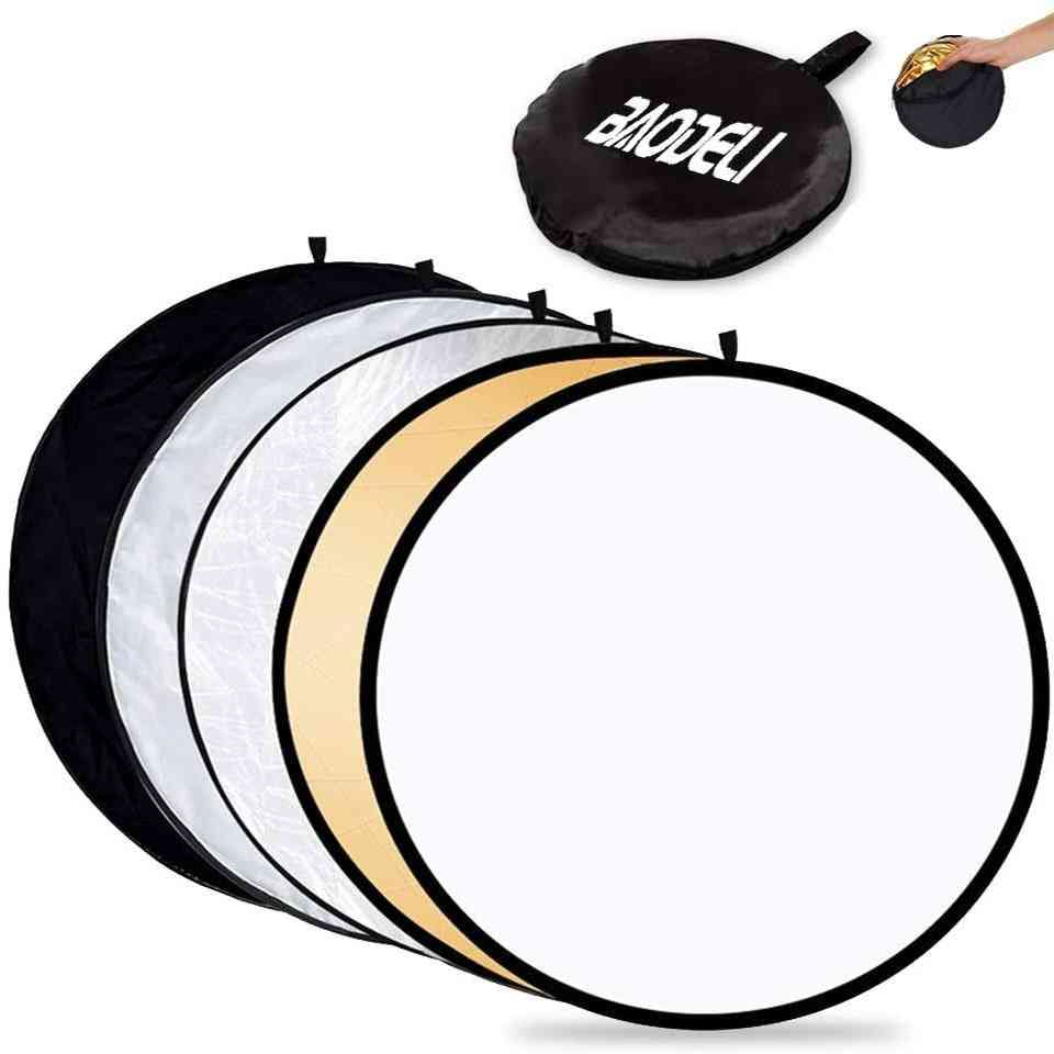 Portable Reflector Photography Collapsible Light Diffuser