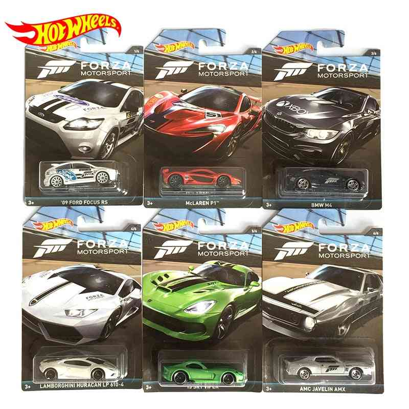 Hot Wheels 1:64 Collector Edition Metal Diecast 1/64 Model Car Toy