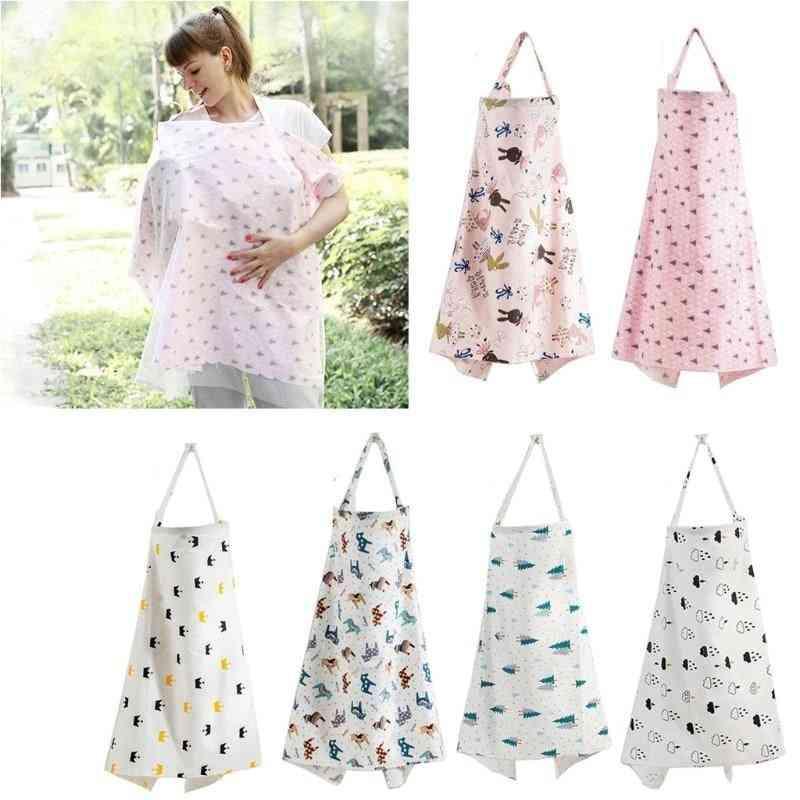Baby Feeding Nursing Covers Mum Breastfeeding Nursing Poncho Cover