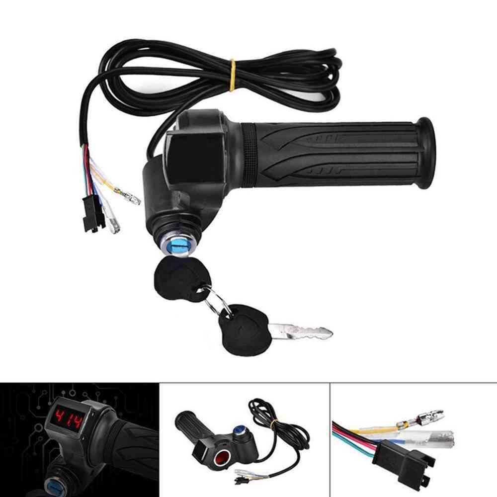 Digital Meter Electric Bike Car Handle