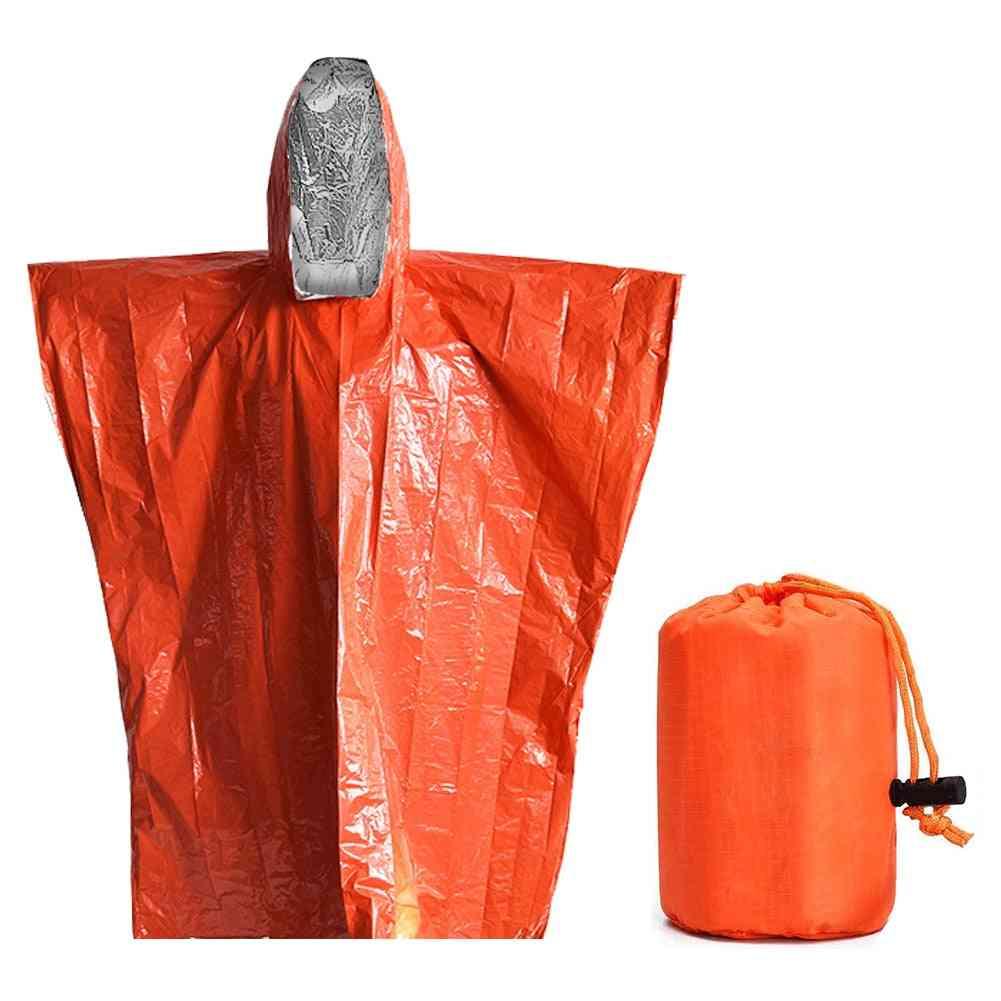 Rescue Curtain Outdoor Raincoat Disposable