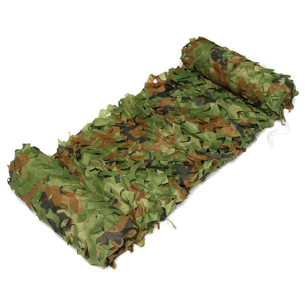3x3m /3x4m Hunting Military Camouflage Nets Woodland