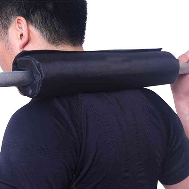 Fitness Weight Lifting Barbell Pad Supports Squat Bar Gripper Cover