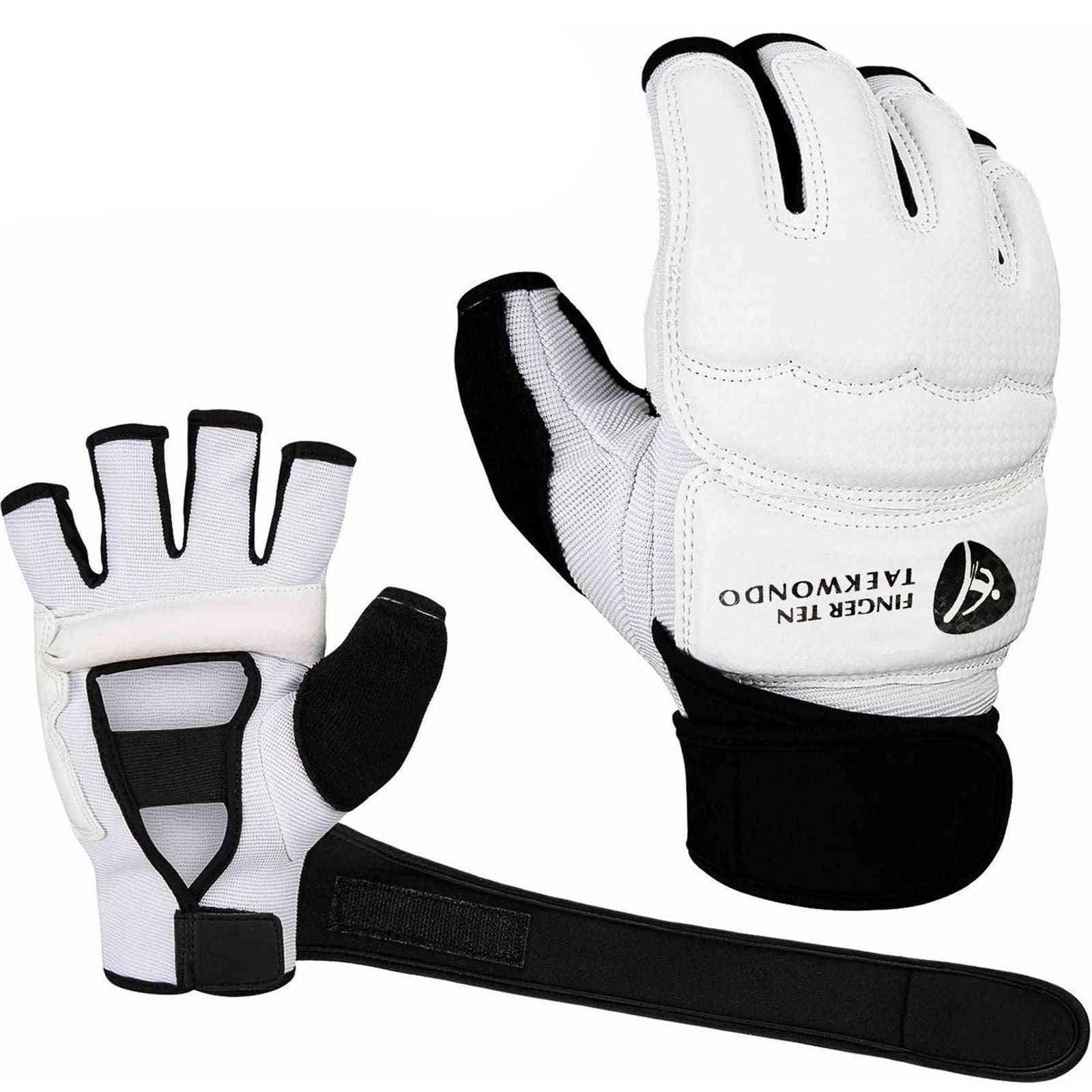 Pro Punching Half Finger Boxing Gloves