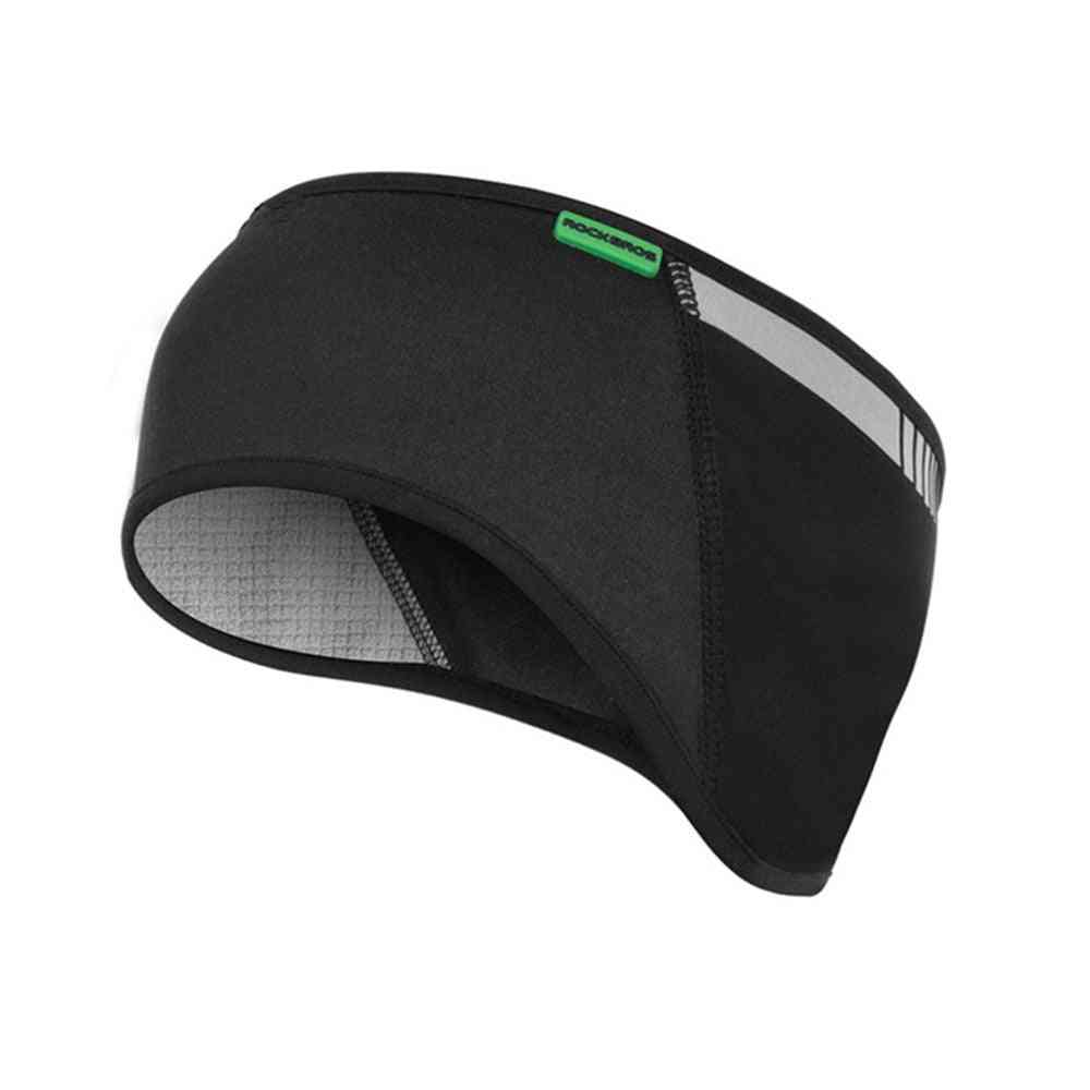 Rockbros Windproof Outdoor Ski Headgear Caps Uv Protector For Ear Skiing Bibs Winter Warm Fleece Snowboard Motorcycle Equipment
