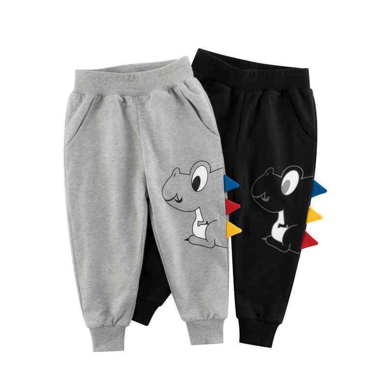 Children Long Pants  Dinosaur Cartoon Kids Sport Trousers Sweatpants