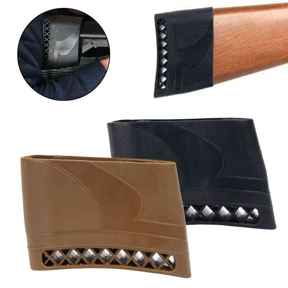 1pc Hunting Rifle Rubber Recoil Pad Anti-slip Resistance Pads Buttstock For Shotguns Rifles Hunting Shooting Extension Butt Pad
