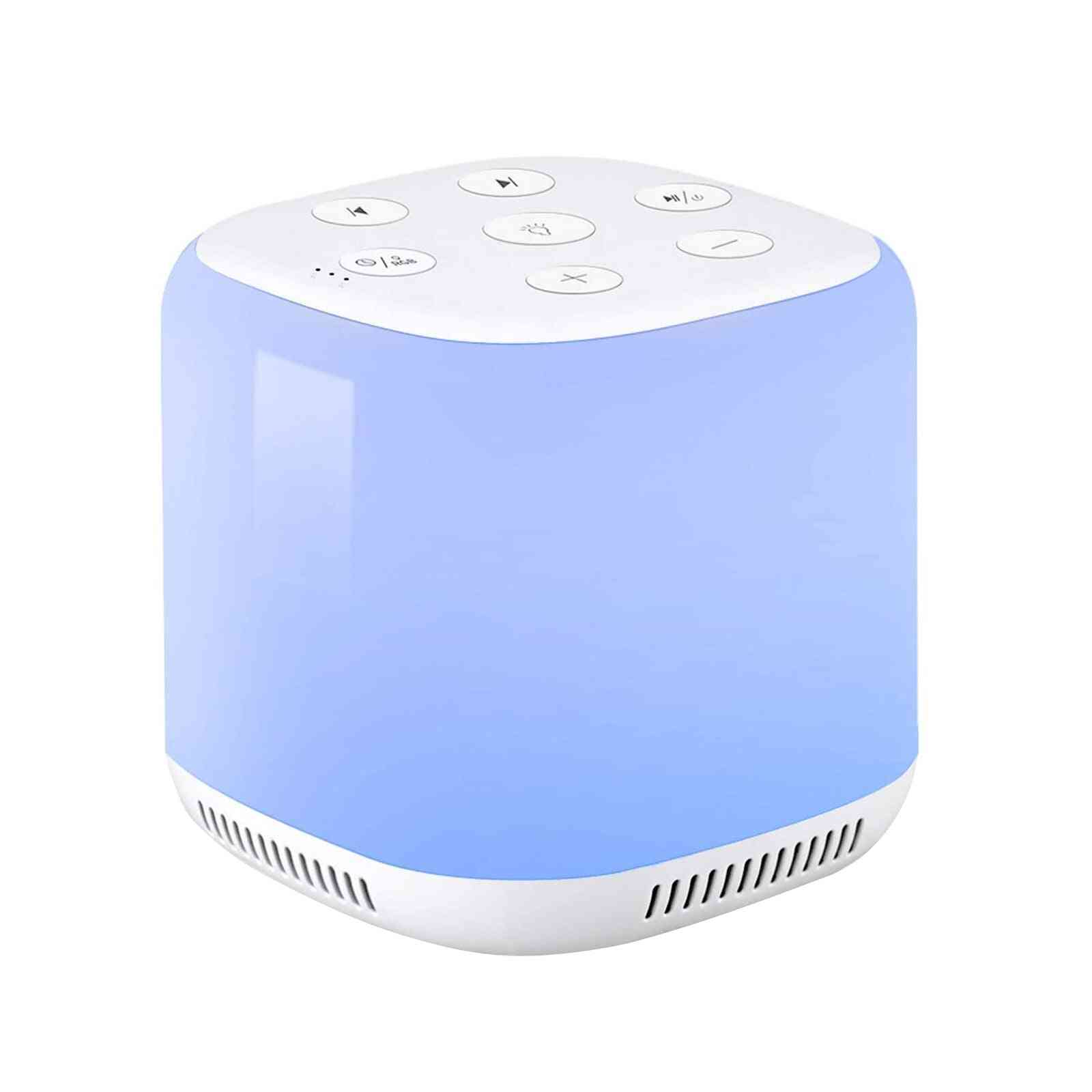 Usb Rechargeable Timed Shutdown Sleep Sound Machine For Relaxation