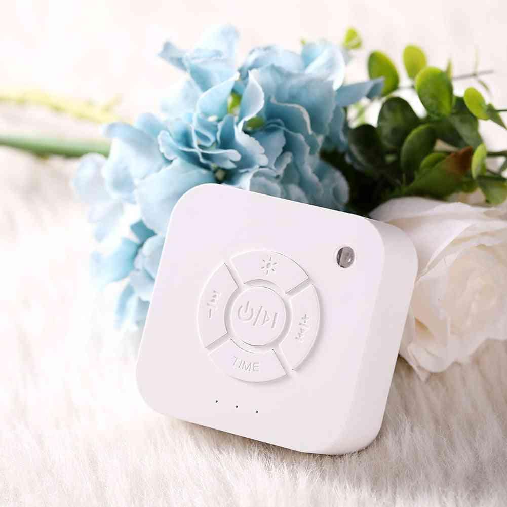 White Noise Machine Usb Rechargeable Timed Shutdown Sleep Sound