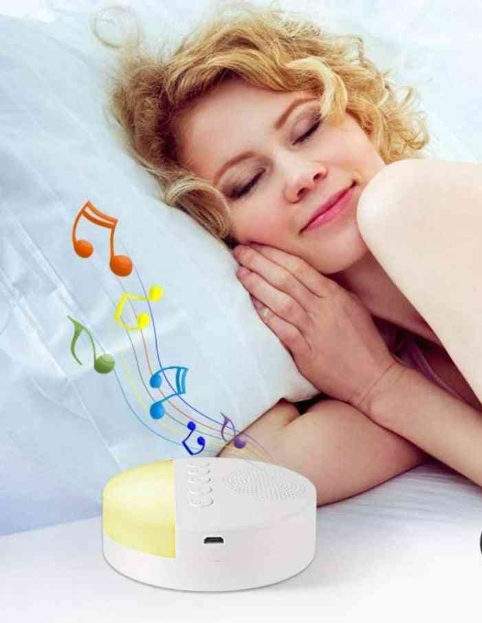Noise Machine Timed Shutdown Sleeping Aid Therapy Device For Relaxation