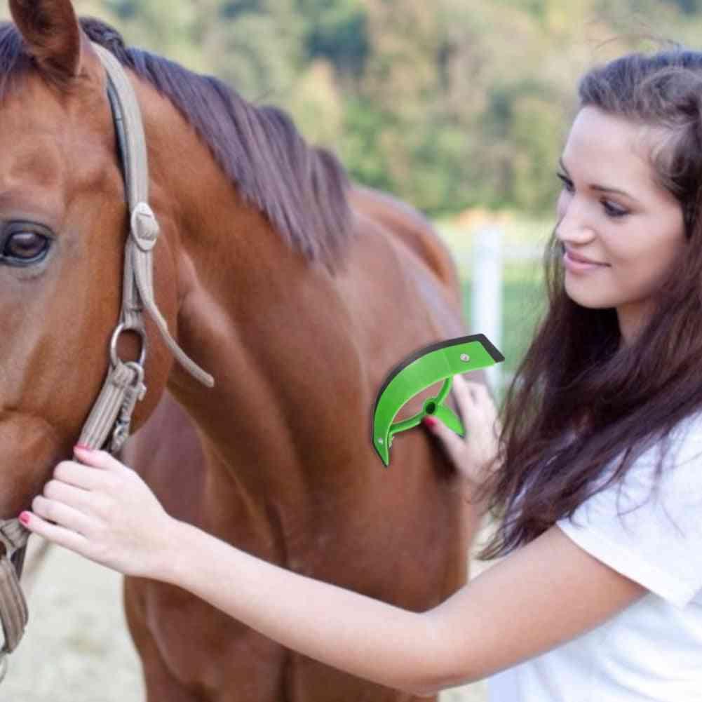 Horse Sweat Scraper Portable Accessories Grooming Tool