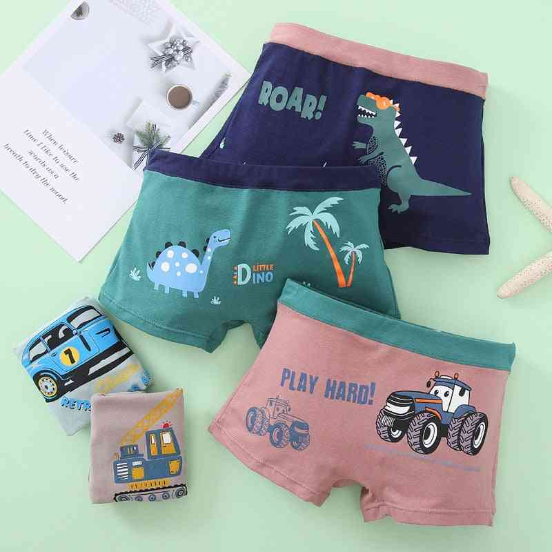 New Arrival Kids Underwear For Cartoon Car Boxers Shorts Toddler Baby