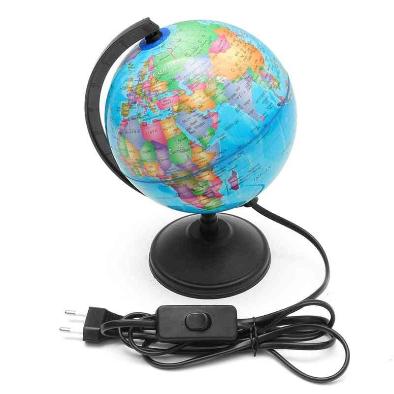 Hot Selling For 20cm World Globe Map Rotating Stand