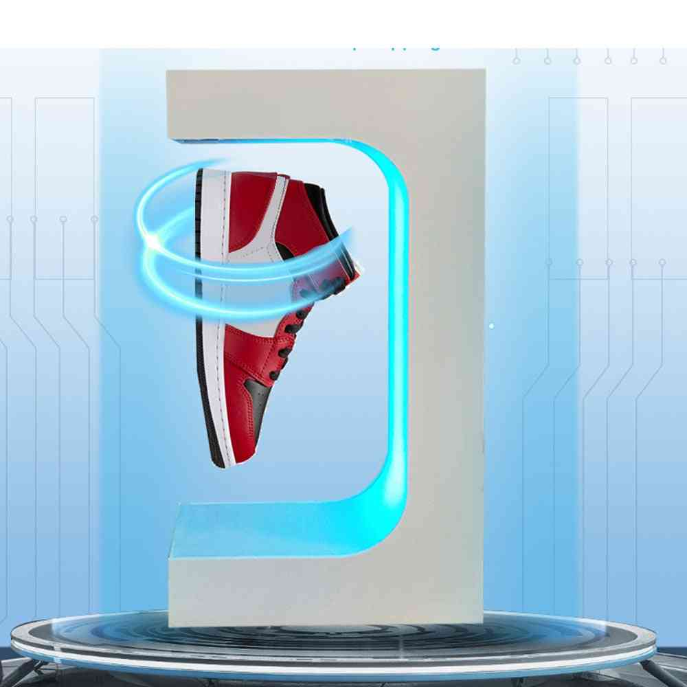 360 Degree Rotation Shoe Display Stand Cabinet