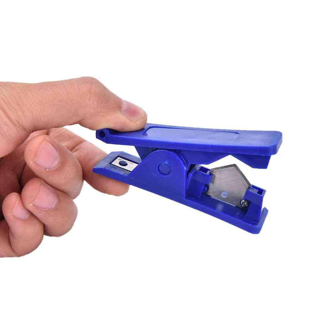 Nylon Pvc Pu Rubber Silicone Plastic Tube Pipe Hose Cutter
