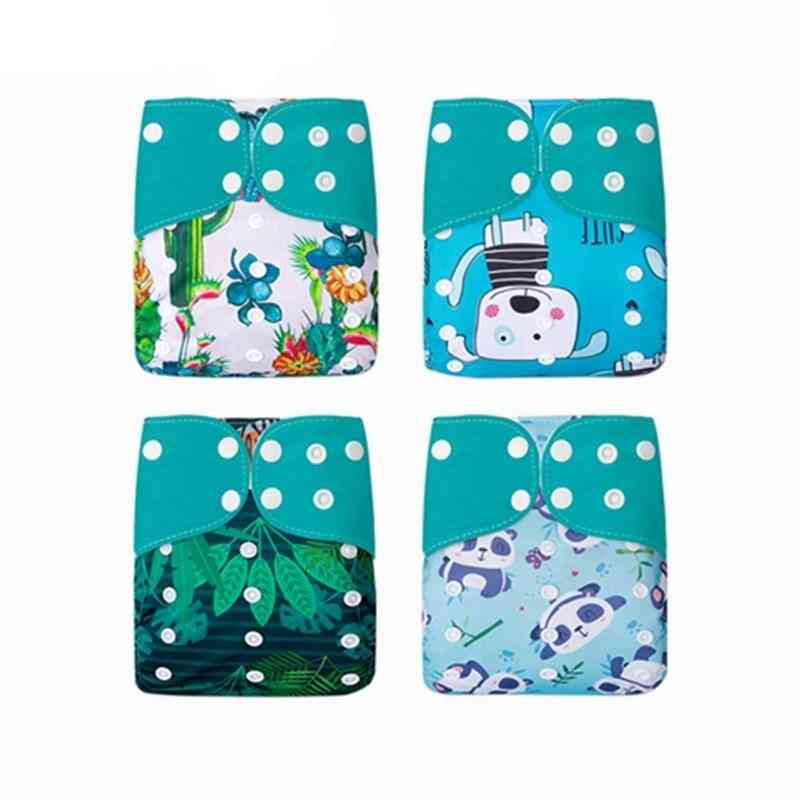 Reusable Washable Cloth Diaper Cover Ecological Adjustable Nappy