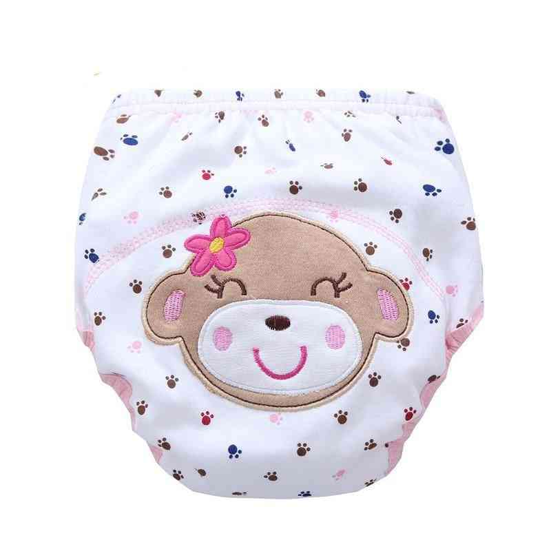 Baby Bear Cloth Diapers Washable Infants Cotton Cloth