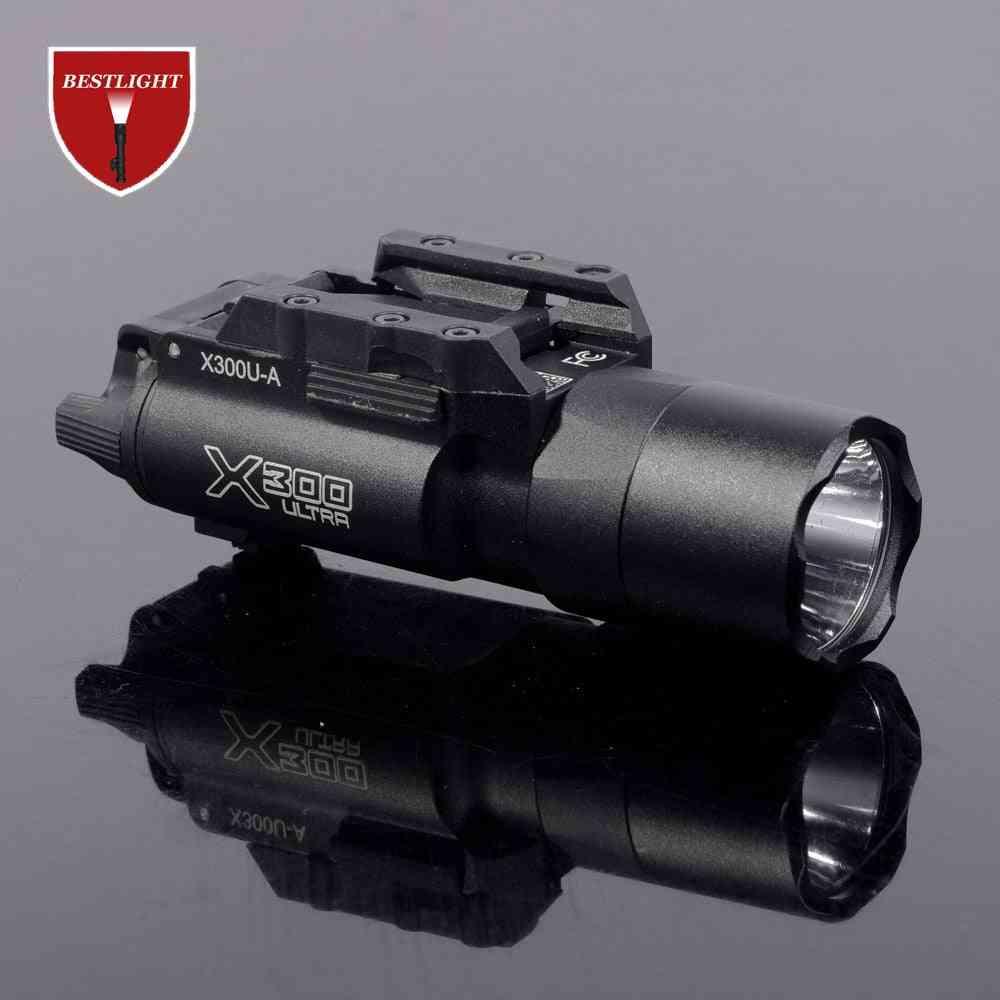 Tactical Sf X300 Ultra Pistol Gun Light X300u 500 Lumens High Output