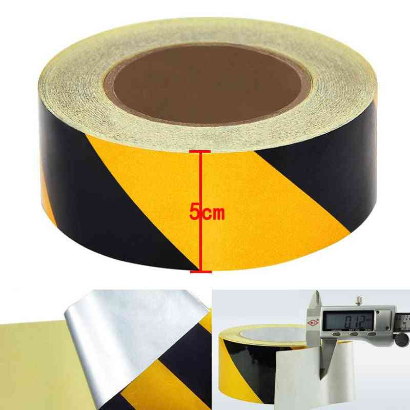 Reflective Material Tape Sticker Safety Warning Tape Reflective Film